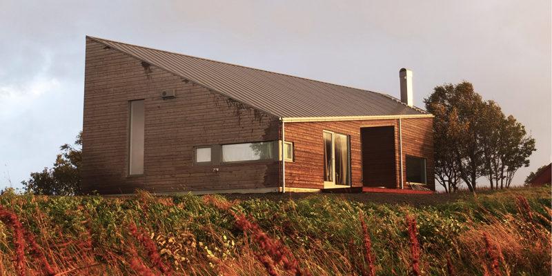 moderne hytte - Skaara Arkitekter AS