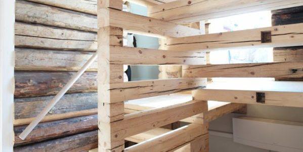 hytte trapp i tre - Skaara Arkitekter AS